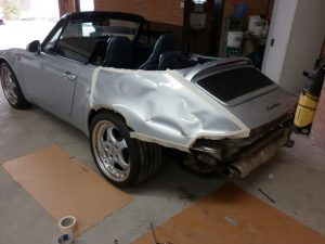 Porsche Repairs paint